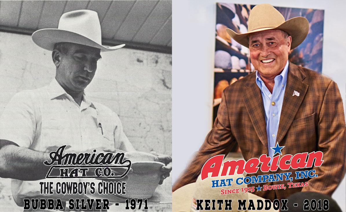 american hat company Sam Silver bubba silver Keith Maddox since 1915