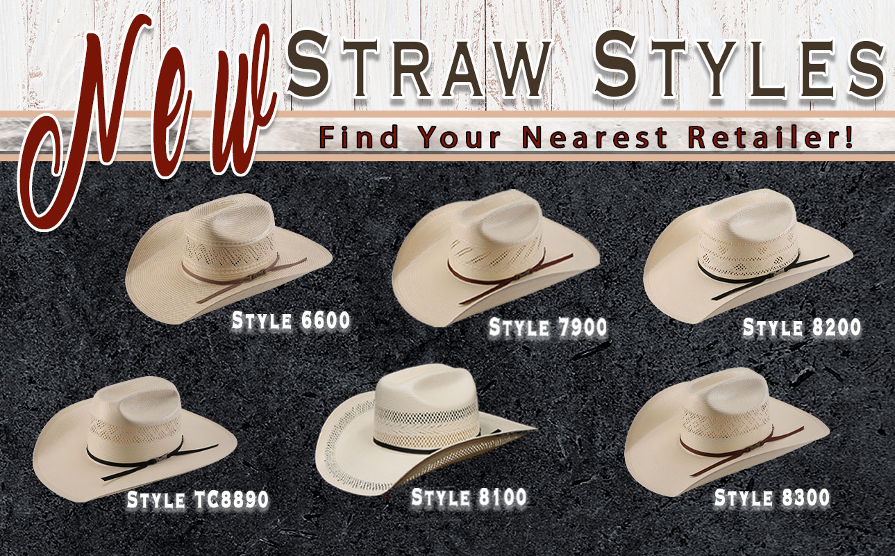 76d60756 american hat company american hat co bowie texas straw hat straw cowboy hat  2019 straw styles