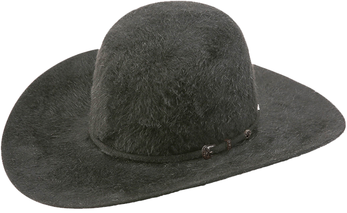 american hat company grizzly cowboy hat charcoal