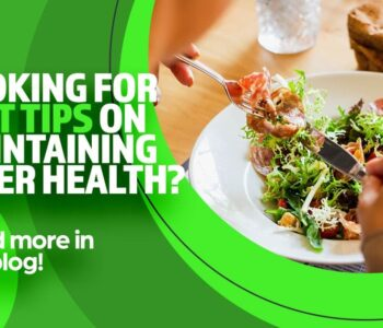 Plate of healthy food, looking for some diet tips on maintaining liver health? Read more in our blog, NASH, clinical research
