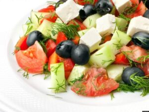 Mediterranean diet foods, liver health, clinical research