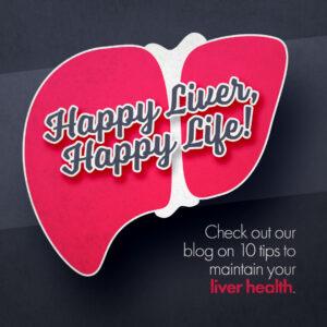 Happy liver, happy life