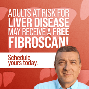 Free fibroscan for adults at risk