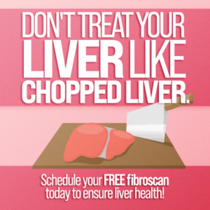 Don't treat your liver like chopped liver