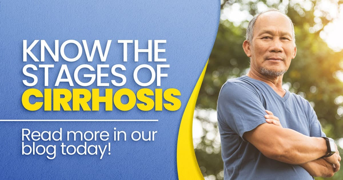 Know the stages of cirrhosis
