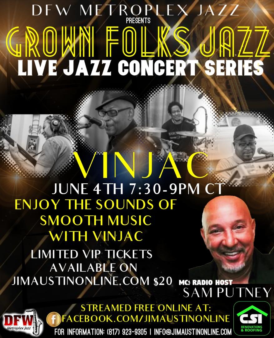 Grown Folks Jazz VINJAC