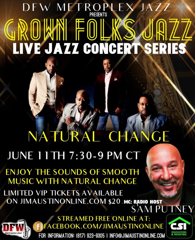 Grown Folks Jazz Natural Change