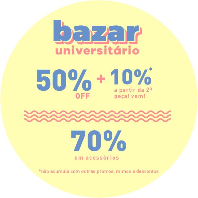 eacacbb91 bazar universitário – Adoro
