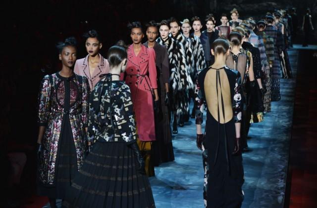 Marc Jacobs - Runway - Mercedes-Benz Fashion Week Fall 2015