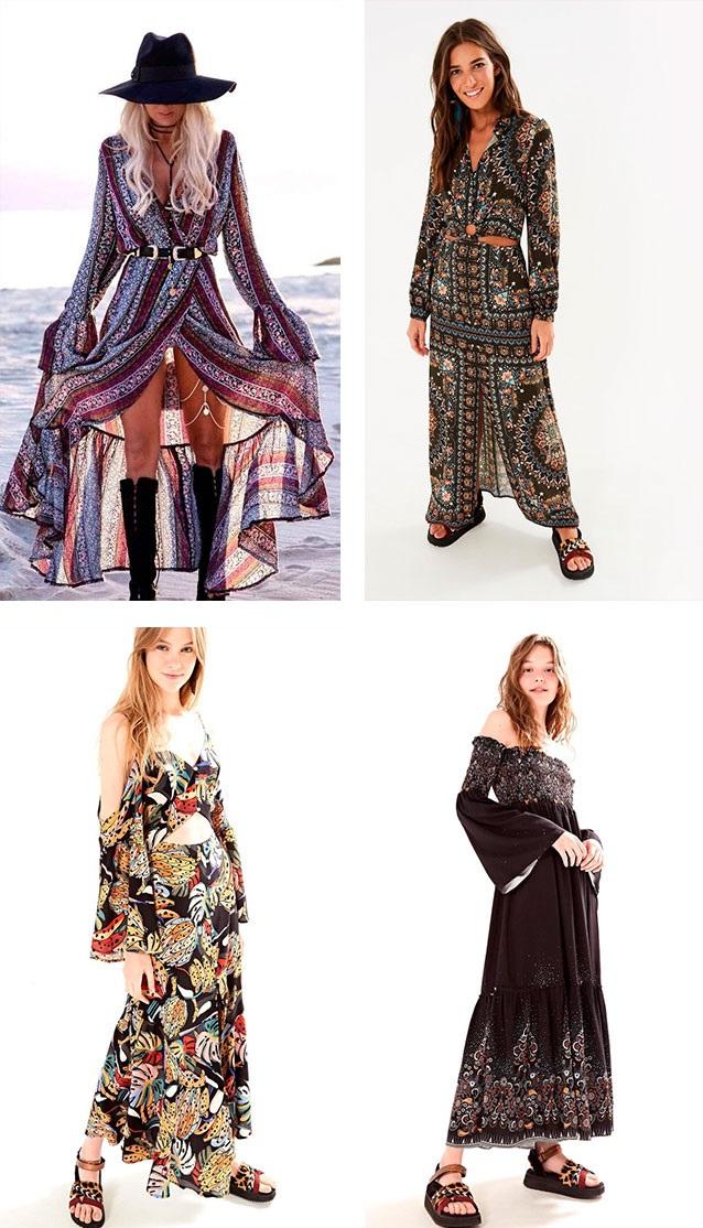7a34a9dc5766 vestido camisa mandala segredo | vestido longo cachos de tucano | vestido  lastex fio de cor