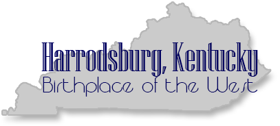 The City of Harrodsburg, Ky Retina Logo