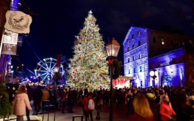 گردش تصویری در بازار کریسمس تورنتو
