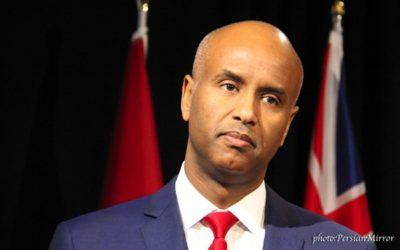 اعتراض وزیر مهاجرت فدرال به نخست وزیر انتاریو