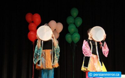 جشن نوروزی دانش آموزان تورنتو