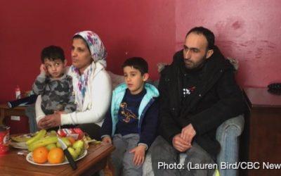خانه مسکونی یک خانواده دیگر پناهنده سوری در کانادا، در آتش سوخت