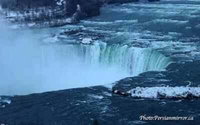 شب و روزِ آبشار نیاگارا