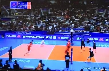 تیم ملی والیبال ایران تیم ملی کانادا را شکست داد