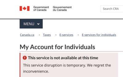 مسدود شدن حساب هزاران نفر در اداره مالیات کانادا