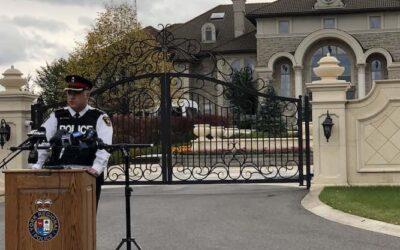 حمله پلیس به قمارخانه غیر قانونی در شمال تورنتو