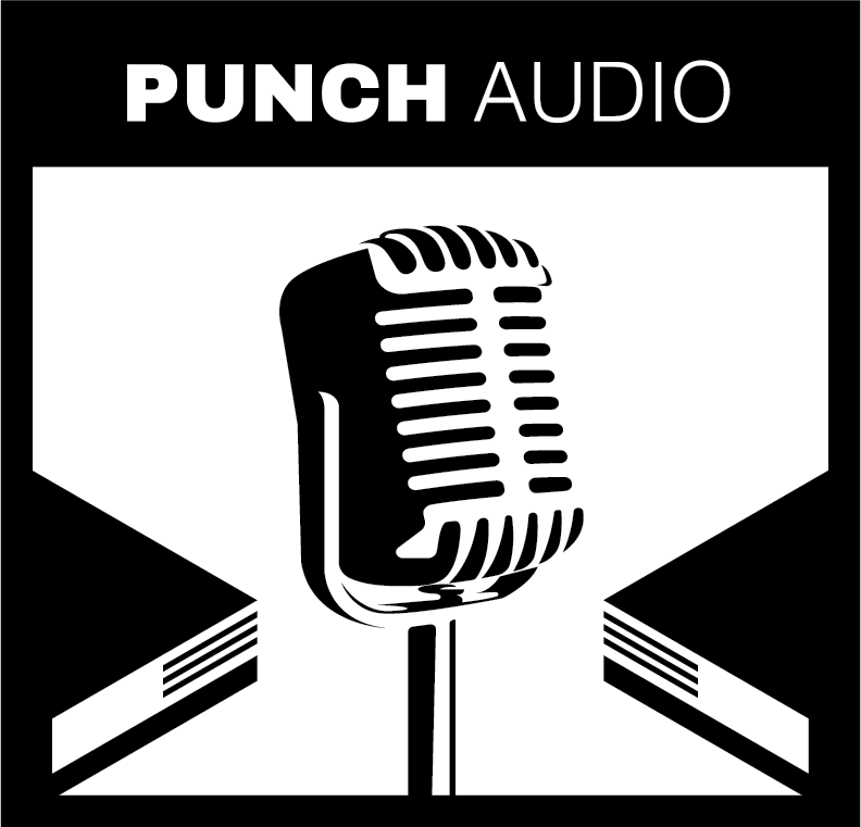 Punch Audio Logo [black]