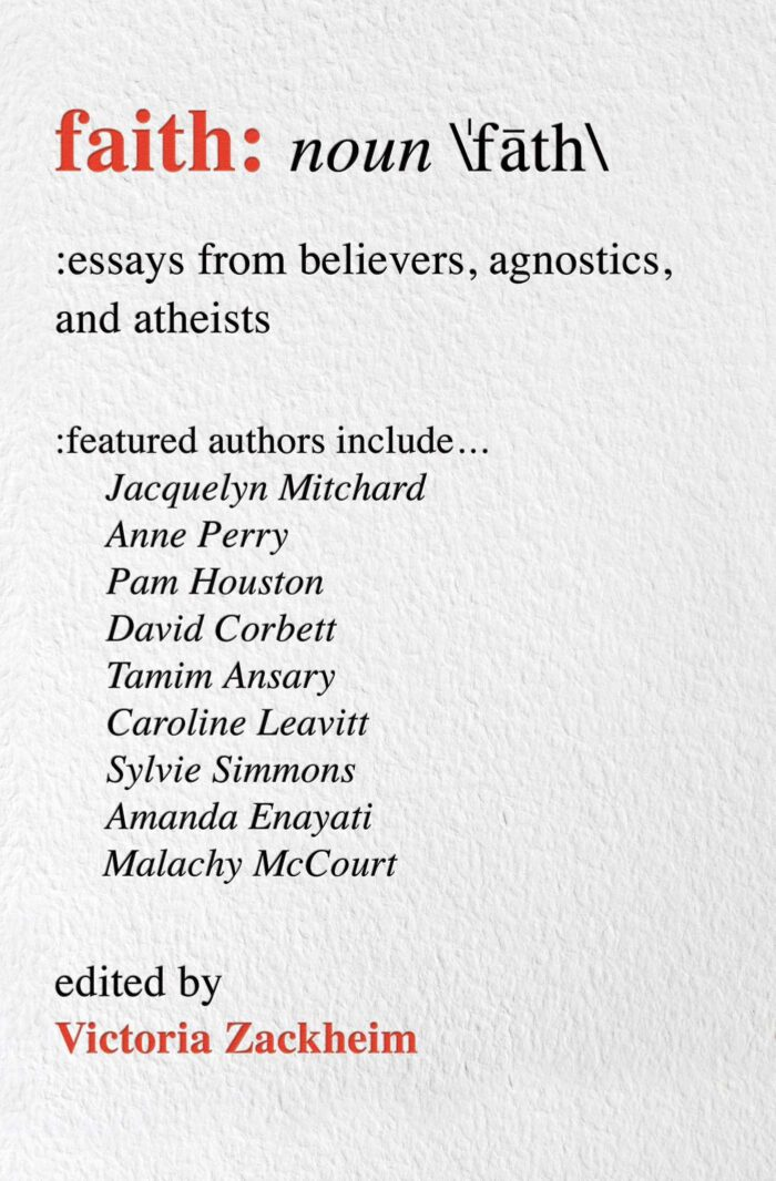 Faith: Essays from believers, agnostics and atheists.