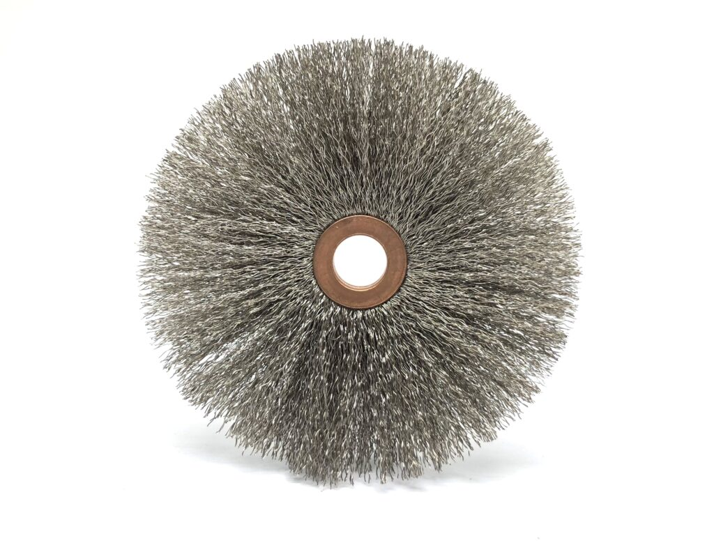 Wheel Brushes, Pin brushes, Twisted wired briushes