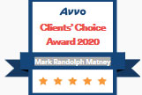 Avvo Clients Choice Award 2020 - Matney Law PLLC - Newport News VA