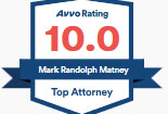 Avvo Top Attorney Award 2020 - Matney Law PLLC - Newport News VA