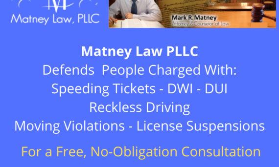 Matney Law PLLC - Traffic Court Attorney - Newport News Virginia