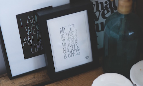 3 Reasons to Frame NYE Resolutions