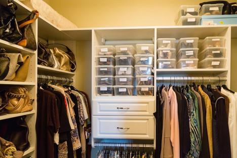 7 Steps to Organized Closets
