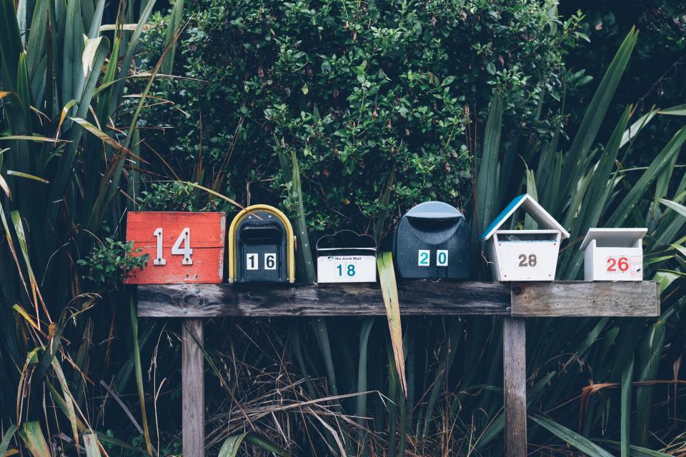 Create a DIY Frame Mail Organizer