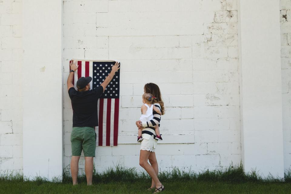 Have Your Sentimental Flag Custom Framed this Flag Day