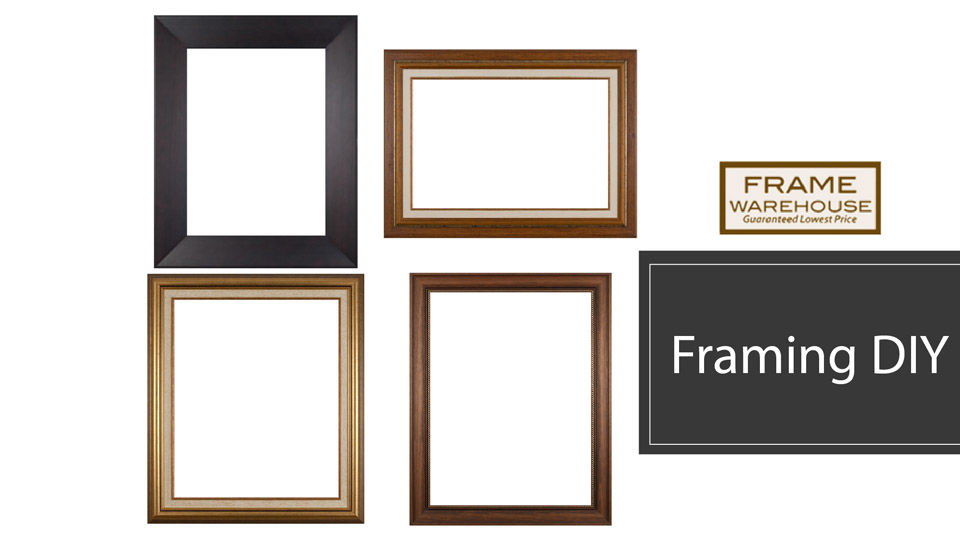Try Your Luck At DIY Framing