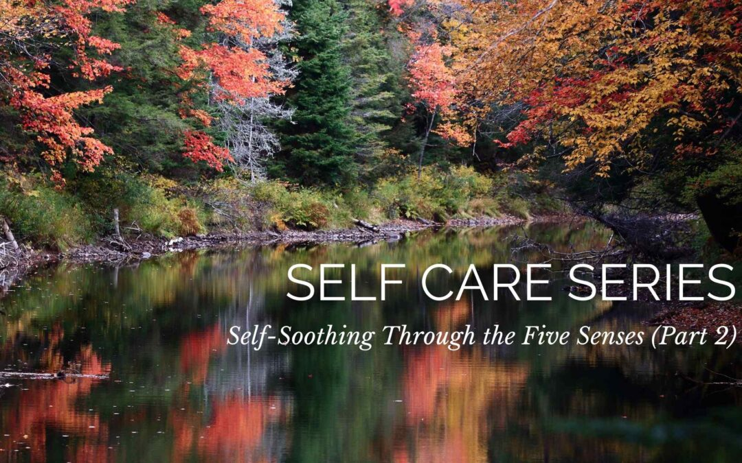 Self Care Series: Self-Soothing Through the Five Senses (Part 2)
