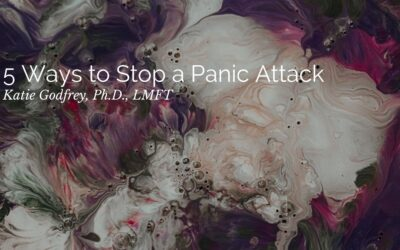 Five Ways to Stop a Panic Attack