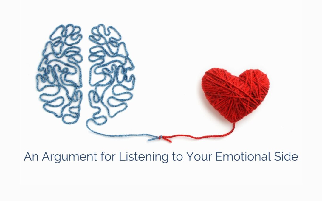 An Argument for Listening to Your Emotional Side