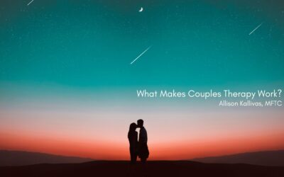 What Makes Couples Therapy Work?
