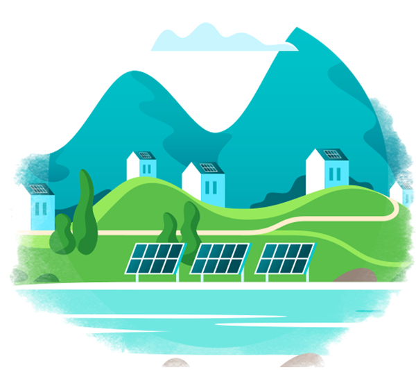 Residential or commercial solar can help