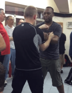 Chi Sao with a Sifu from the UK in Hong Kong