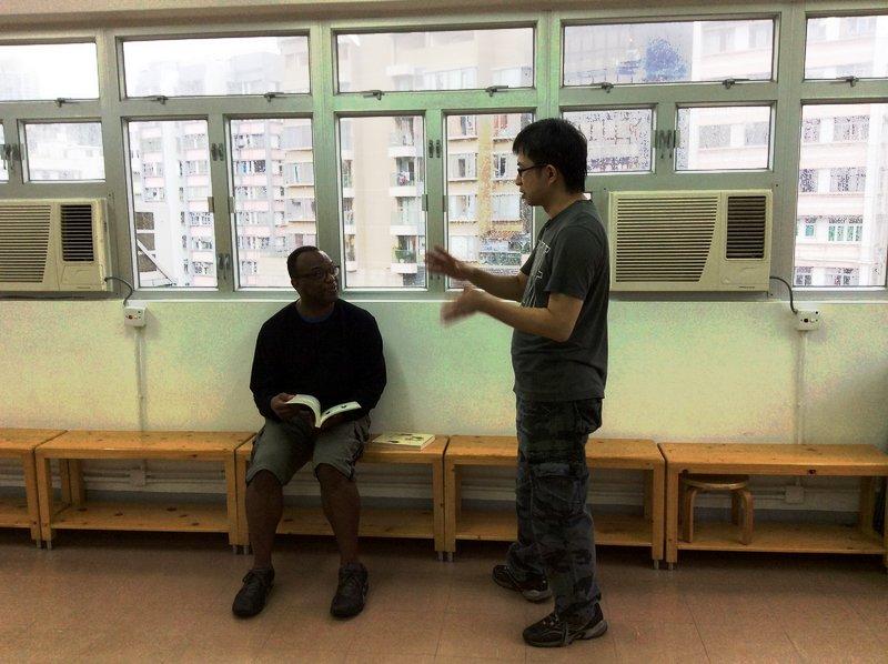 Horace Chu is a teacher at the Chu Shong Tin Ving Tsun Alumi in Hong Kong.