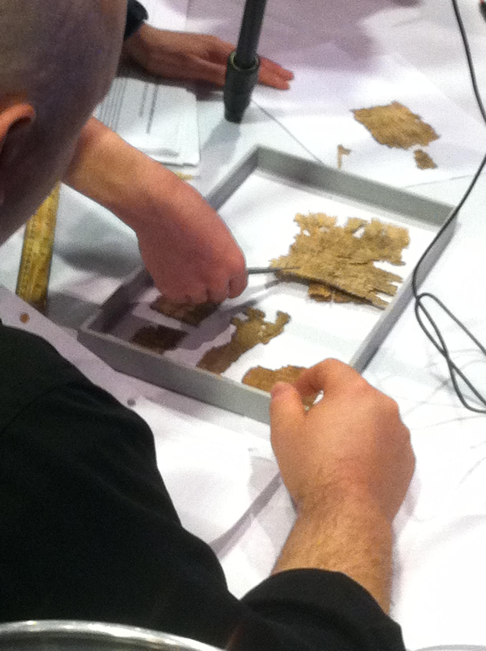 Assisting with ancient manuscript fragments
