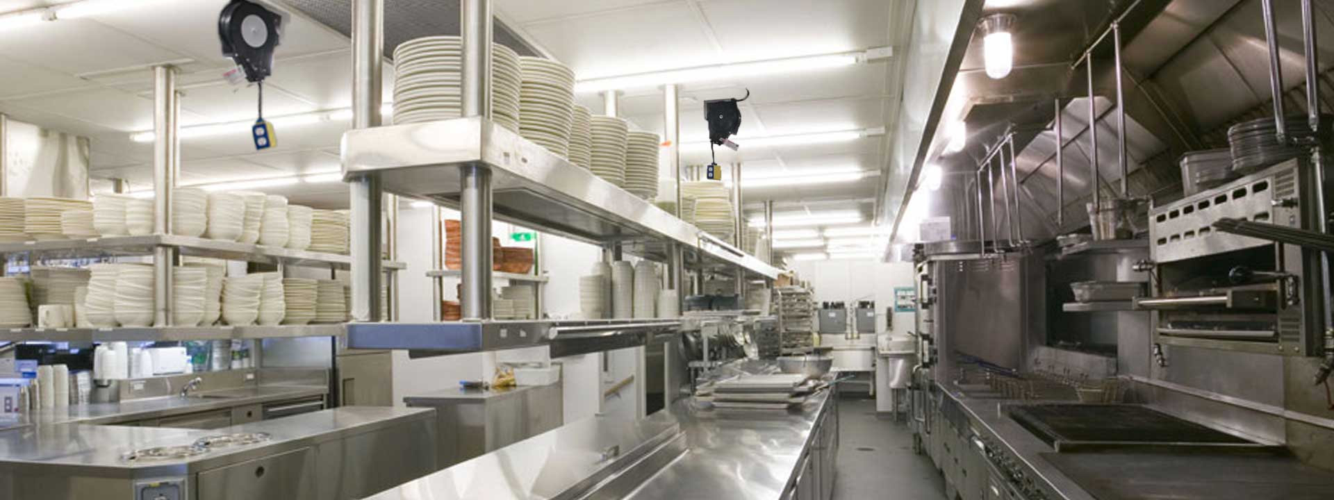 Commercial Kitchen Cord Reels For Drop Down Power! U2013 Kitchen ...