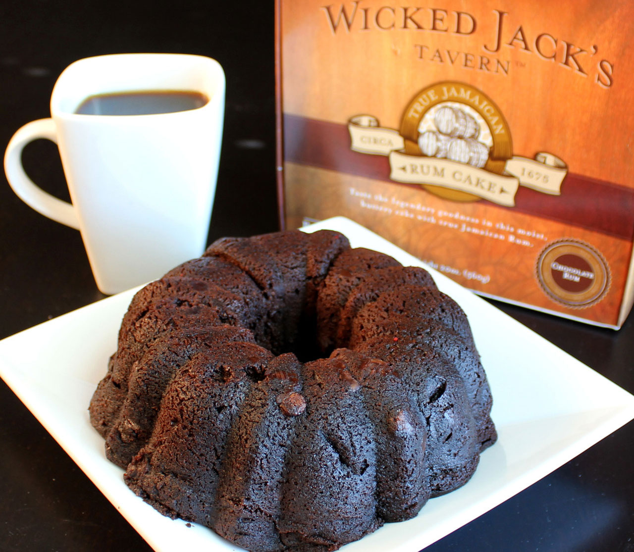 Gifts Wicked Jack's Chocolate Rum Cake
