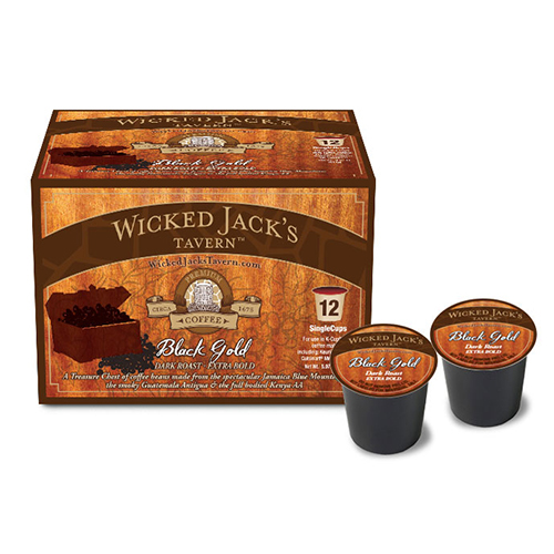 Wicked Jack's Single Cup Black Gold