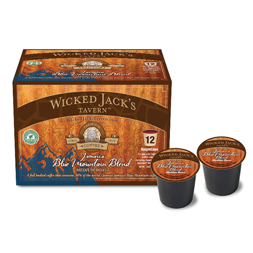 Wicked Jack's SingleCup Jamaica Blue Mountain Blend