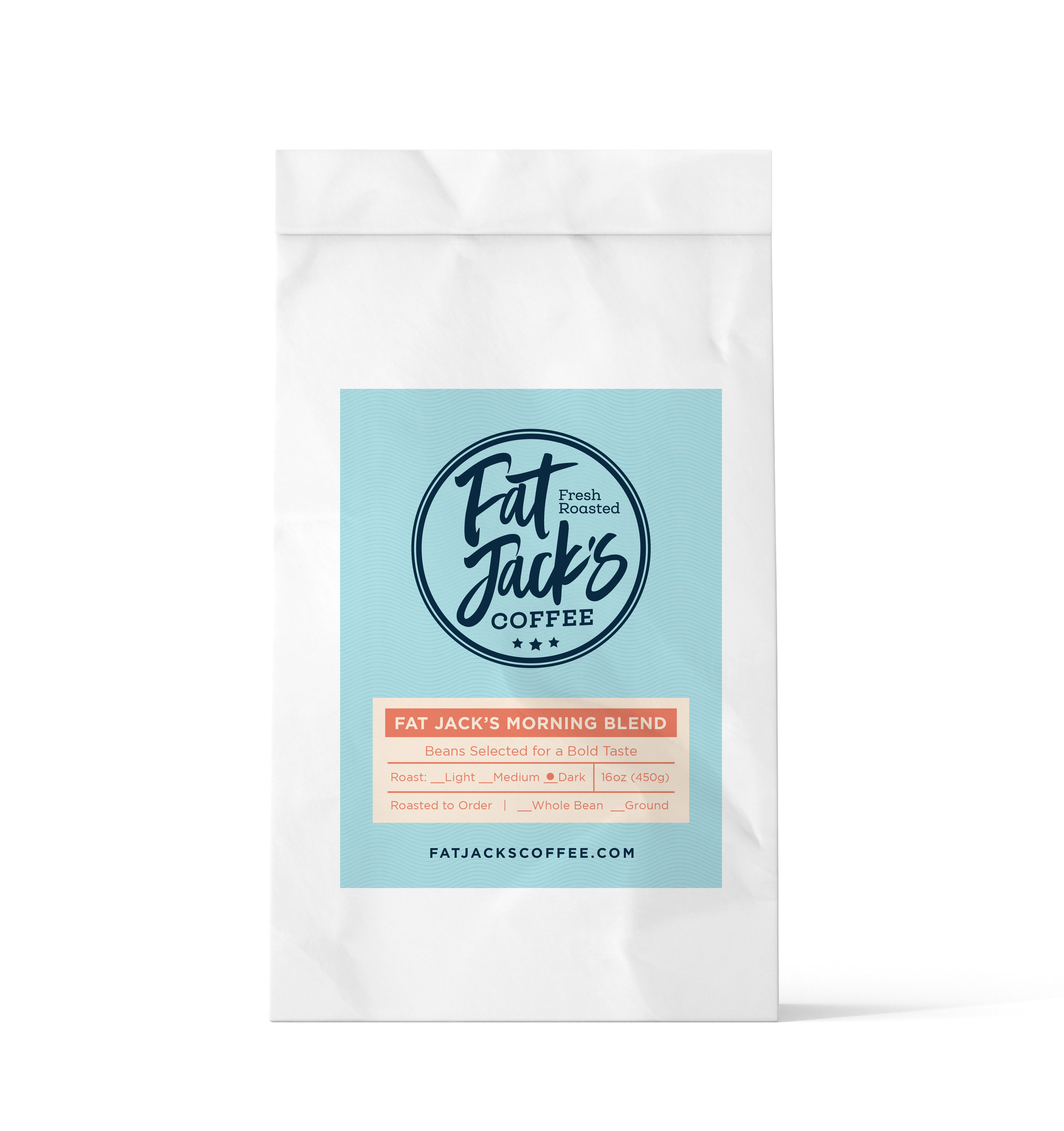 Flavored Coffees Fat Jack's Morning Blend