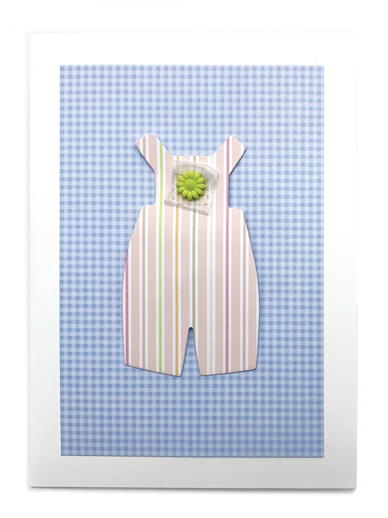 Romper - Girl Isabella Handcrafted Cards