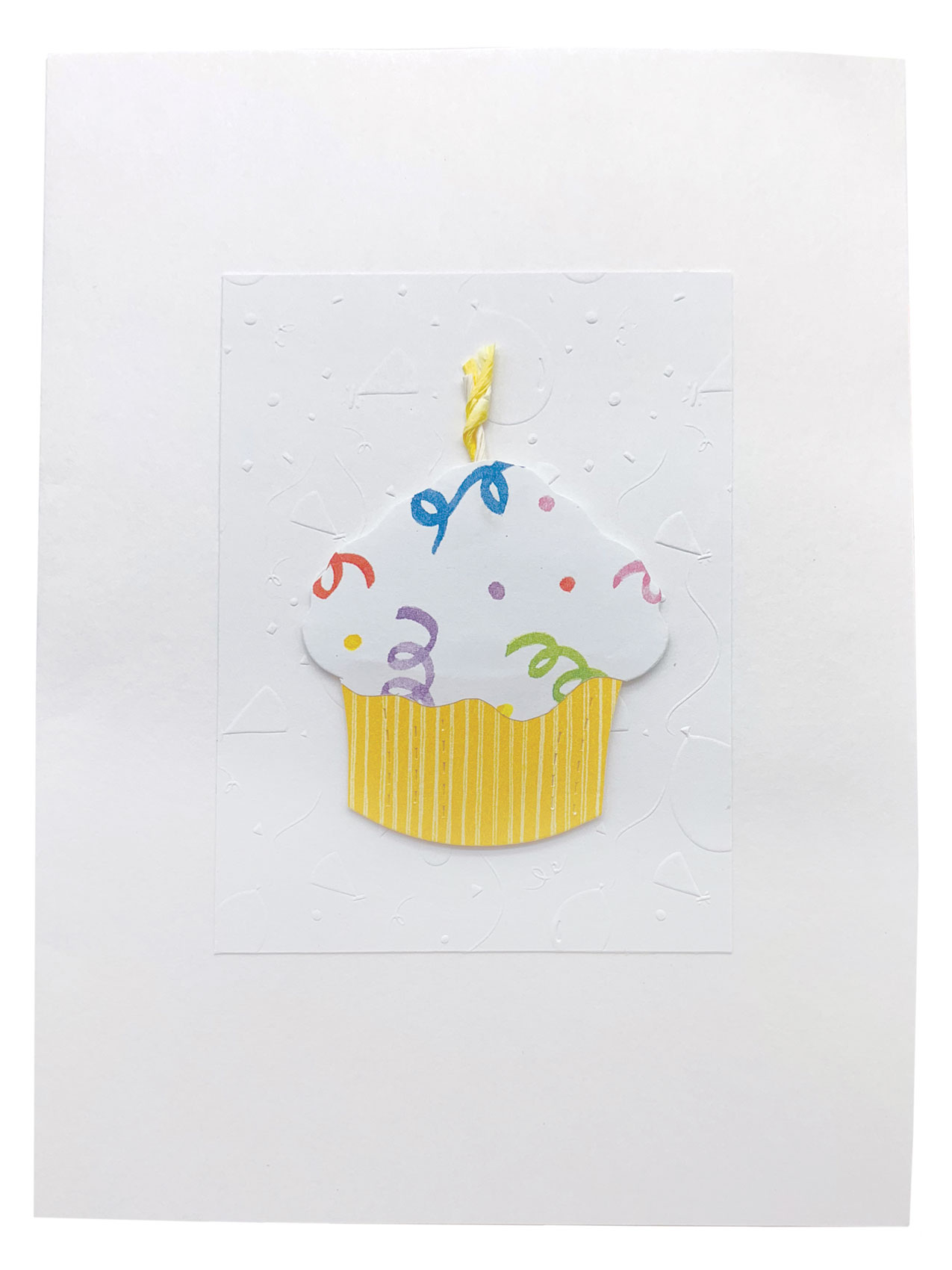 Cupcake - Isabella Handcrafted Cards