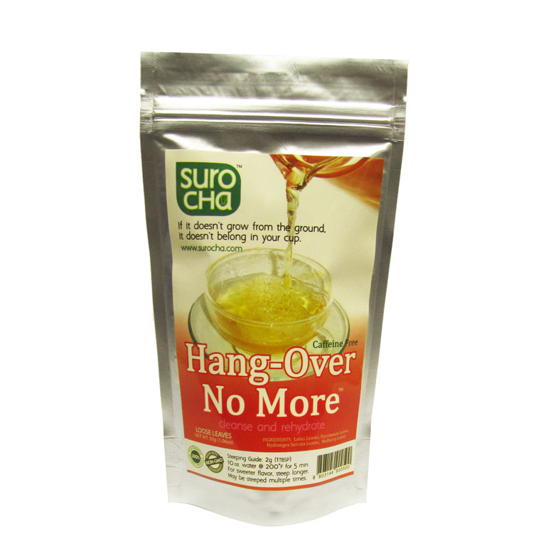 Tea Hang-Over No More - Fat Jack's Coffee